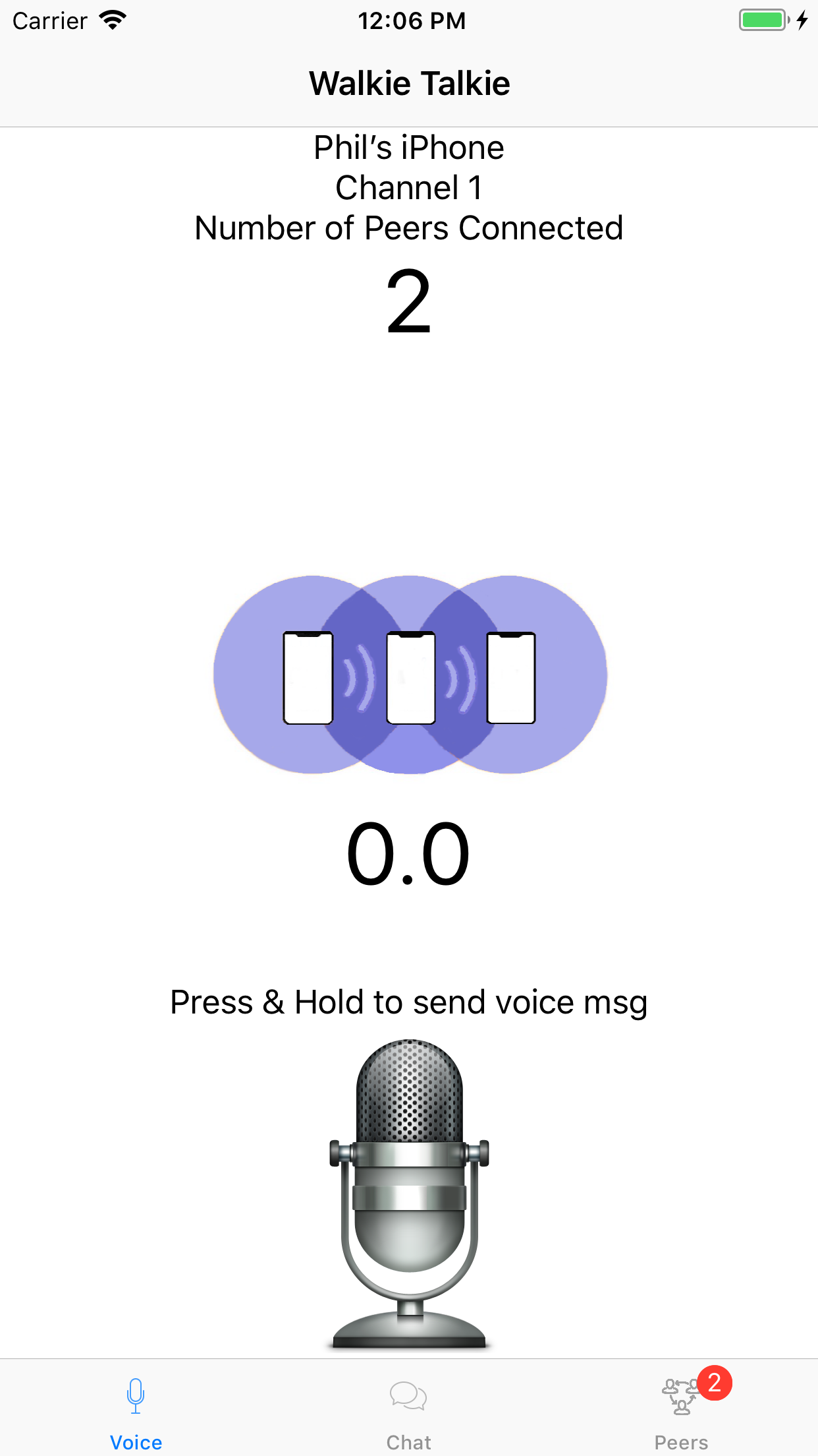 Walkie Talkie for iPhone and iPad – Walkie Talkie for iPhone